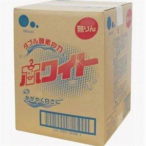 Концентрированный стиральный порошок (с ферментами и оптическим отбеливателем) 5 кг / 1