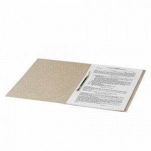 Скоросшиватель картонный BRAUBERG, гарантированная плотность 300 г/м2, до 200 листов, 122736