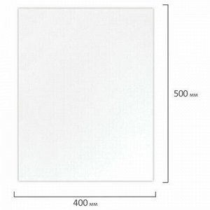 Холст на подрамнике акварельный BRAUBERG ART CLASSIC, 40х50, 240г/м, 100% хлопок,мелкое зерно 191669