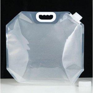 Фляжка для воды 10 л, PET, мягкая 38х36 см