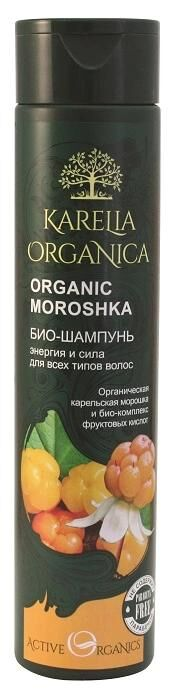 Фратти KARELIA ORGANICA Био-шампунь Organic MOROSHKA Энергия и сила 0310 мл 0,37 кг