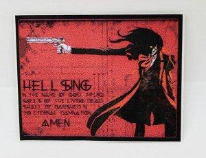 "Наклейка ПВХ-""Hellsing"""
