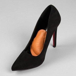 Супинатор для обуви, Т-образный для переднего отдела стопы, на клеевой основе, 10 ? 7,5 см, пара, цвет бежевый