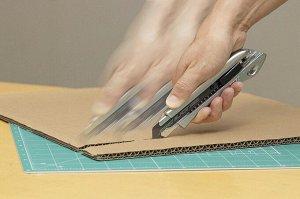 OLFA нож с выдвижным сегментированным лезвием
