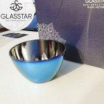 """Салатник Glasstar """"Лавандовый Аметист"""" / 1 шт."""