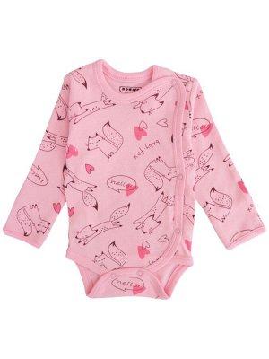 Боди для детей OP382 розовый