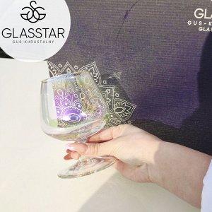 """Набор бокалов Glasstar """"Лиловая дымка"""" / 3 шт. 410 мл"""