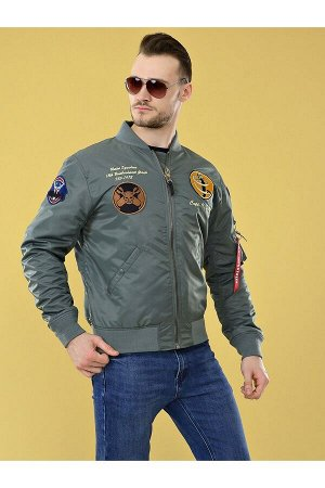 Мужская куртка S.M.N 05 Серый
