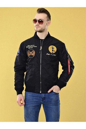 Мужская куртка S.M.N 05 Черный