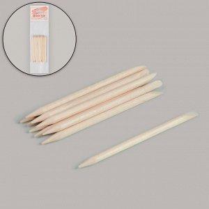 Апельсиновые палочки для маникюра, 7 см, 10 шт