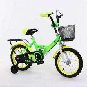 Велосипед детский 2-х колесный SAIL 16 д. HD-026 (1/2) зеленый