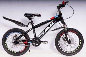 Велосипед 2-х колесный SAIL 18 д. TX-DJG (черный)