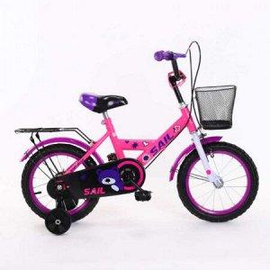 Велосипед детский 2-х колесный SAIL 12 д. HD-026  розовый
