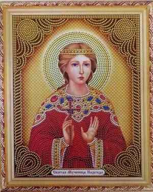 Алмазная живопись - мозаика Мученица Надежда