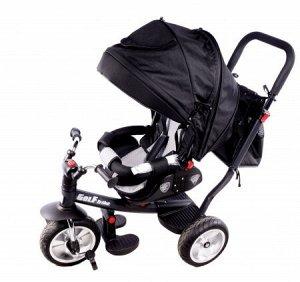 Детский 3-х колесный велосипед B51  черный