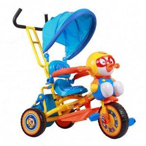 Детский 3-х колесный велосипед JT1011 (W8) (желто/голубой)
