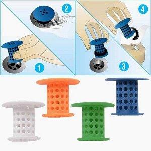 Пробка-сетка для раковины силиконовая