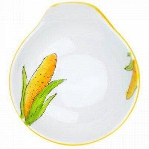"""Кукуруза"" Салатник фарфоровый 180мл, 12х11,2х4см, подглазур"