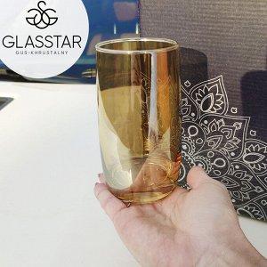 "Набор стаканов Glasstar ""Мед"" / 6 шт. 330 мл"