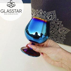 "Набор бокалов для бренди Glasstar ""Лавандовый аметист"" / 6 шт. 250 мл"