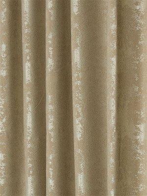 Комплект штор золотого оттенка: 2 шторы по 200 см