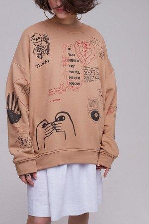 Комплект : джемпер  +  футболка  (2426/3)  +  брюки  2472
