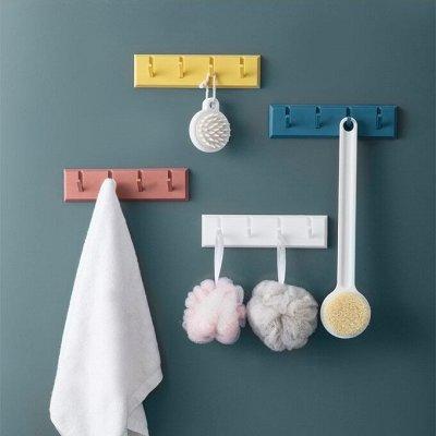 ✌ОптоFFкa*Товары для кухни и ванной комнаты* — Крючки на липучке — Плечики и вешалки