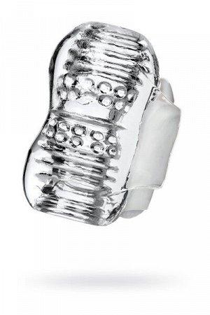 Мастурбатор нереалистичный  khani, tpe, прозрачный, 9 см
