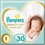 PAMPERS Подгузники Premium Care Newborn (до 2.5кг) Средняя Упаковка 30
