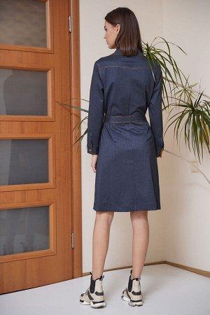 Платье Платье Fantazia Mod 3651 отделка горчица  Состав: Вискоза-33%; ПЭ-64%; Спандекс-3%; Сезон: Весна Рост: 164  Универсальное и практичное - такое платье must-have в гардеробе любой женщины, живущ