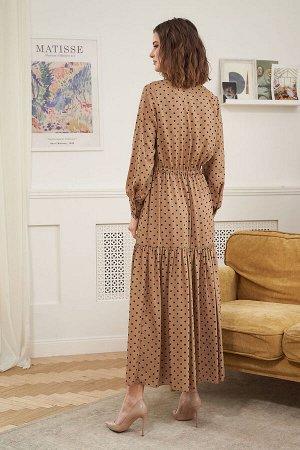 Платье Платье Fantazia Mod 3600  Состав: ПЭ-100%; Сезон: Весна Рост: 164  Наверное, нет более женственного и романтичного наряда, чем шифоновое платье. Эта нежнейшая шелковистая ткань прекрасно драпи