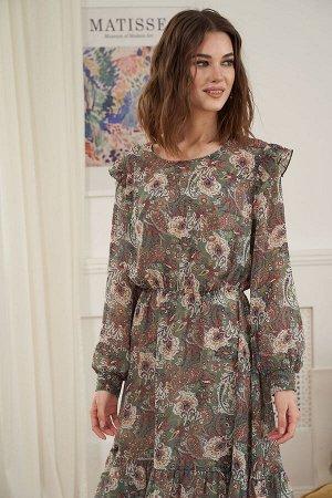 Платье Платье Fantazia Mod 3920  Состав: ПЭ-100%; Сезон: Весна Рост: 164  Весна - прекрасная пора. И как же хочется в это время года выглядеть привлекательно. Неоспоримой классикой среди весенней оде