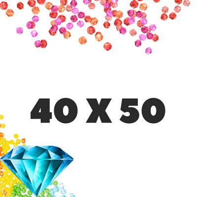 Тотальная Ликвидация✨Рисование по номерам&Мозаики — Лучшая цена! Алмазные мозаики 40x50 квадратные стразы
