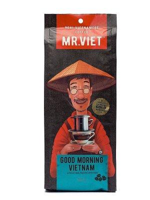 """Кофе Мистер Вьет """"Доброе утро, Вьетнам"""" 500гр зерно"""