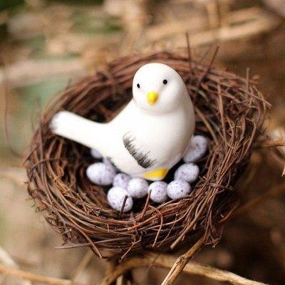 Укрась дом к пасхе🥚Большой выбор уютных, красивых украшений — Искусственные птицы для декора — Украшения для интерьера