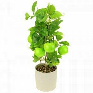 """Декоративное дерево """"Яблонька"""" h40см, зеленый, в пластмассов"""