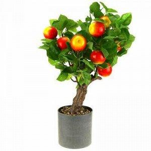 """Декоративное дерево """"Яблонька"""" h52см, красный, в пластмассов"""