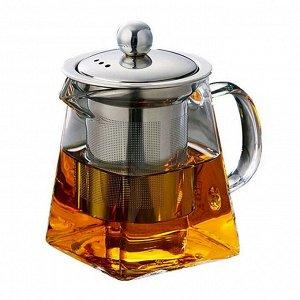 Стеклянный чайник 750мл.