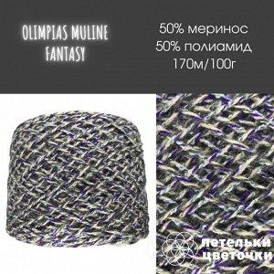 Olimpias muline, 200 гр., меланж бежево-фиолетовый