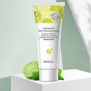 Гель-скатка с фруктовыми кислотами и никотинамидом, для очищения кожи,Images Beauty Advanced Fruit Acid Exfoliation, 80 гр*3шт