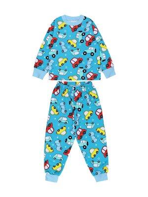 Пижама для мальчика бирюзовый