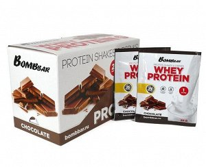 Порционный протеин Шоколад Whey protein Chocolate Bombbar 30 гр.
