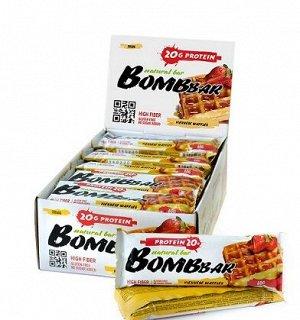 Батончик протеиновый Венские вафли Protein viennese waffles Bombbar 60 гр.
