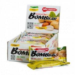 Батончик протеиновый Грецкие орехи с медом Protein wallnut-honey Bombbar 60 гр.