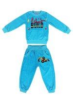 Спортивный костюм для мальчика бирюзовый