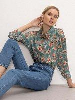 Рубашка с цветочным принтом B2480/legenda