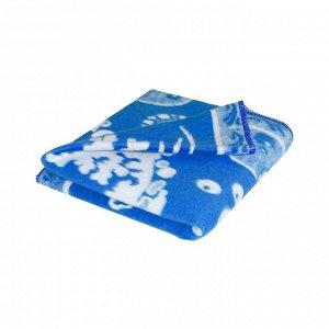 Детское одеяло Дельфины цвет синий Теплое (100х140 см)