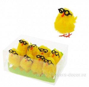 Цыплята декоративные набор 8 шт