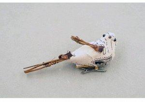 Птичка почтовая 1 шт 10 см