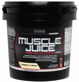 Гейнер ULTIMATE NUTRITION Muscle Juice Revolution 2600 - 5 кг